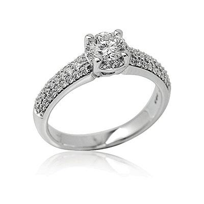 4dca59946 Briliantové šperky. Prsteny Prsteny · Naušnice